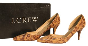 J.Crew animal print Pumps