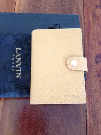Lanvin Lavin Leather notebook