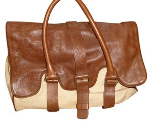 Zara Brown and beige Travel Bag