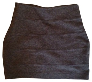 byCorpus Mini Skirt Gray