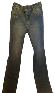 Ann Michell The Original Boot Cut Jeans-Medium Wash