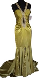 Prima Donna Collection Prom Full Length Keyhole Scoop Back Dress