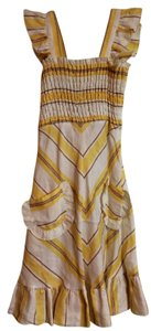 Canary Yellow Maxi Dress by Betsey Johnson