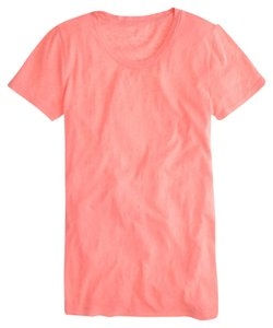 J.Crew T Shirt Neon Coral