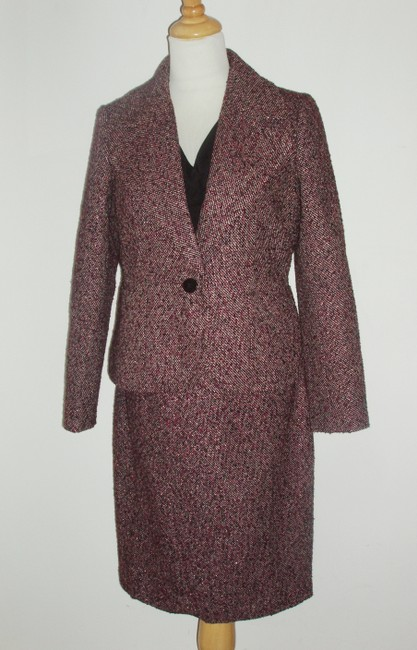 Talbots Matte Jersey & Sparkle Tweed Dress with Matching Jacket