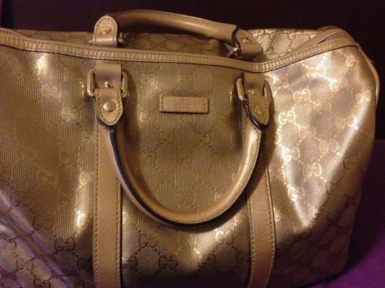 Gucci Satchel in Metallic gold