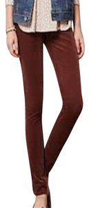 Anthropologie Brown Leggings