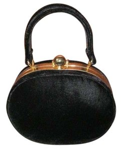Lord & Taylor Small Evening Satchel in Black