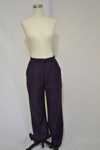 Escada Trouser Pants Dark Purple