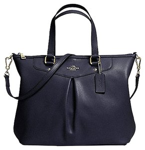 Coach Women Tote in Navy