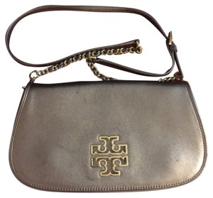 Tory Burch Gray Clutch