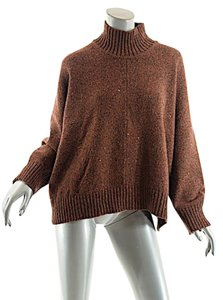 Eskandar Tweed Cashmere/wool Turtleneck Sweater