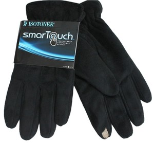Isotoner Mens XL SMARTouch 2.0 Touchscreen Tech Stretch Gloves ANDROID GPS ISOTONER 10.5-11