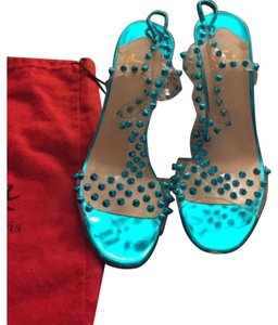Christian Louboutin Blue and red Sandals