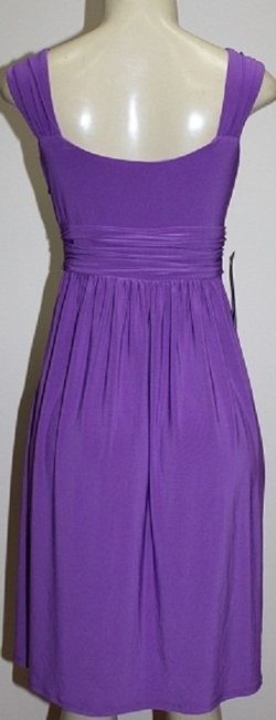 Jones New York short dress PURPLE (Full bloom wisteria) on Tradesy