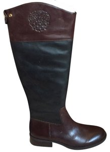 Vince Camuto Black and woodbury Boots