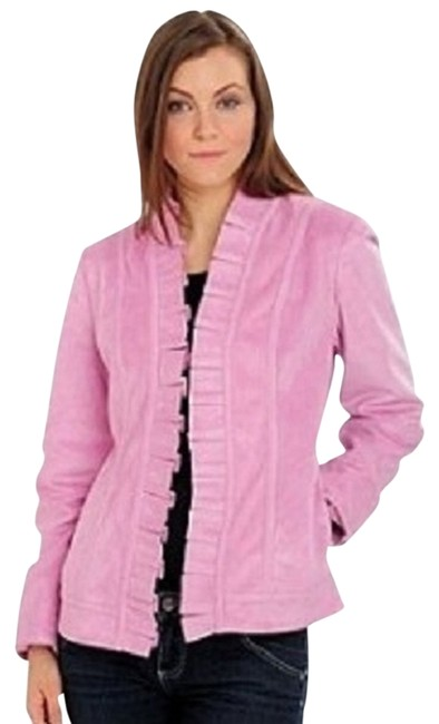 Preload https://img-static.tradesy.com/item/735863/judy-crowell-light-pink-with-ruffly-trims-size-6-s-0-0-650-650.jpg