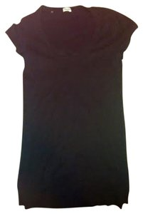 Splendid Cotton Scoop Neck Short Sleeve T Shirt Black