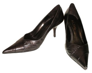 ALDO Pointed Toe Pump Brown Pumps
