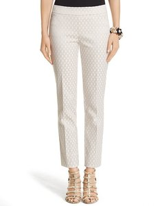 White House | Black Market Whbm Pencil Straight Pants ivory