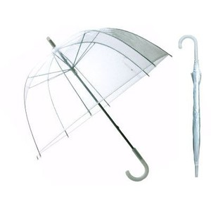 24 Clear Dome Umbrellas