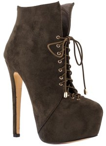 Luichiny Bootie Stiletto Heel olive / army Boots