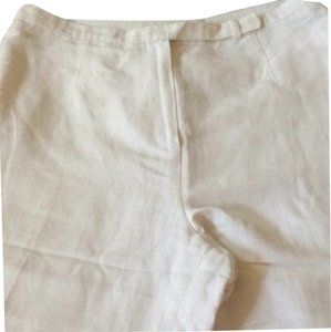 Petite Sophisticate Straight Pants White
