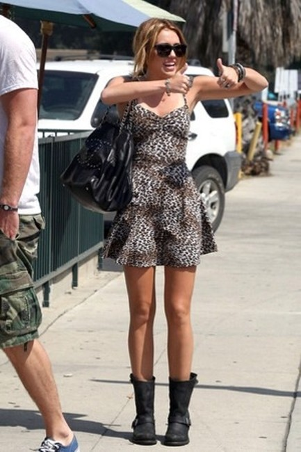 Urban Outfitters short dress Leopard on Tradesy