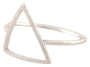 New Size 6, Triangle Ring in silver