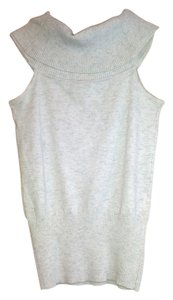 Poof Apparel Top Cream Heathered