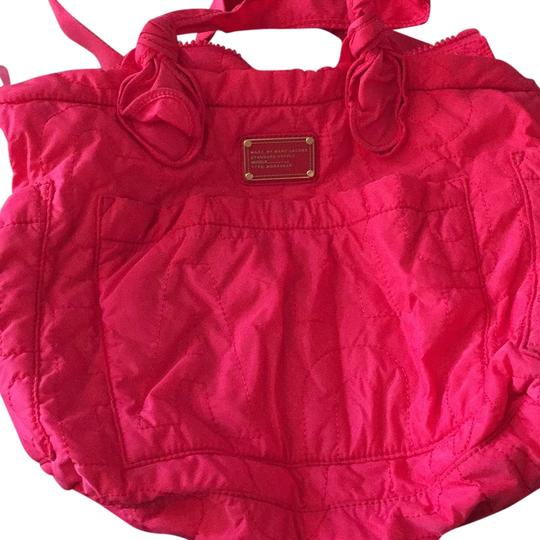 marc by marc jacobs pink diaper bag on sale 44 off baby diaper bags on sale. Black Bedroom Furniture Sets. Home Design Ideas