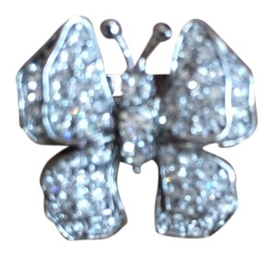 Other butterfly ring with cubic zirconia
