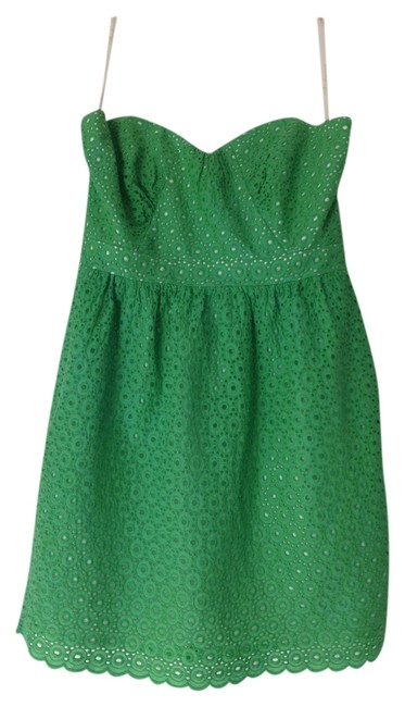 Preload https://item5.tradesy.com/images/shoshanna-kelly-green-tulip-above-knee-short-casual-dress-size-10-m-736329-0-0.jpg?width=400&height=650