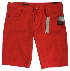 KUT from the Kloth Bermuda Shorts Red