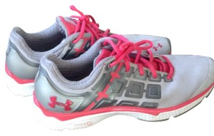 Under Armour Gray/Pink Athletic