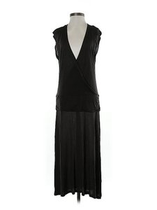 Black Maxi Dress by James Perse V-neck Drop Waist