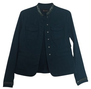 INC International Concepts Dark Teal Blazer
