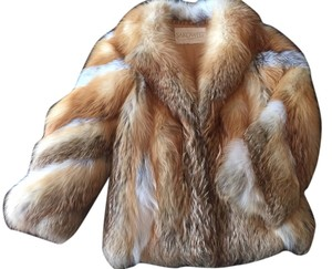 Sakowitz Fox Fur Vintage Coat