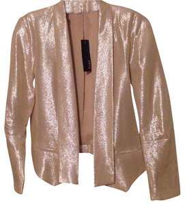 DREW Light pink Shimmer Blazer
