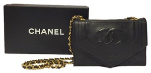 Chanel Classic Vintage Leather Shoulder Bag