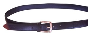 Gradino Black Leather Men's Belt.
