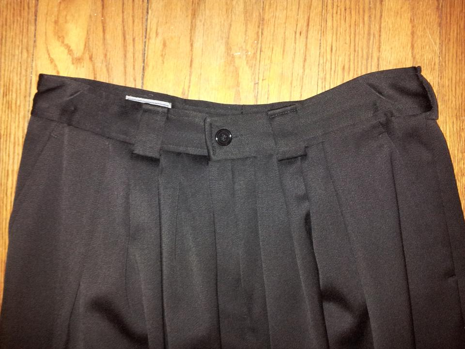 770de16f85ac Kenzo Vintage Side Pockets Button Fly Made In France Pleated Front   Wool  Satin Twill Relaxed. 12345