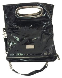 Badgley Mischka Patent Leather Shoulder Bag