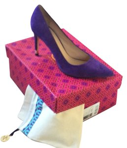 Tory Burch Royal purple Pumps