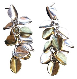 Giles & Brother Wheat Leaf Earrings