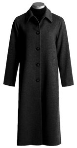 Jonathan Michael Full Length Wool Pea Coat