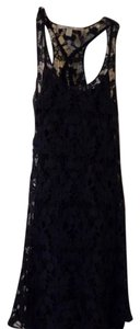 LC Lauren Conrad short dress Navy Lace on Tradesy