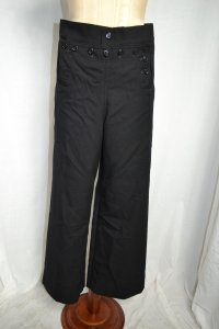 Unknown Wide Leg Pants Black