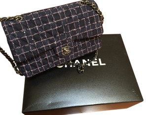 Chanel Limited Edition Tweed Classic Shoulder Bag