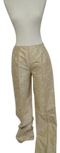 Talbots Straight Pants Light Tan Shell